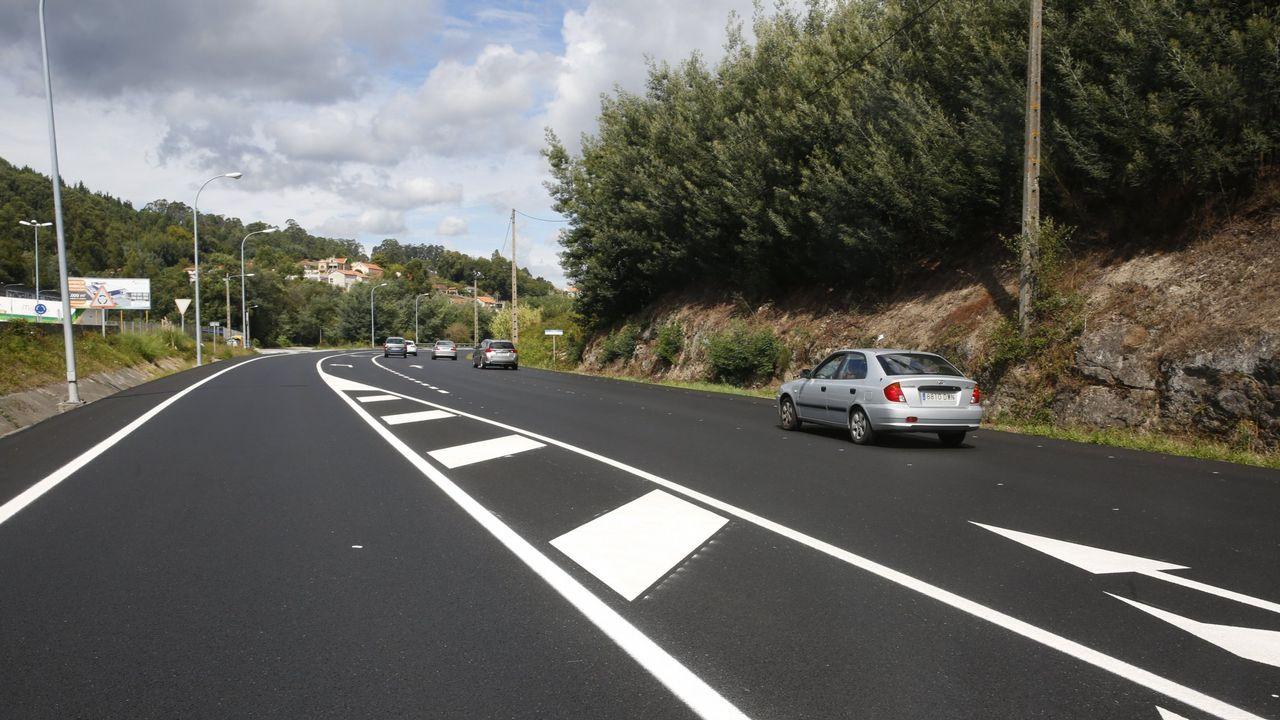 Imagen de archivo de la carreteraPO-531.
