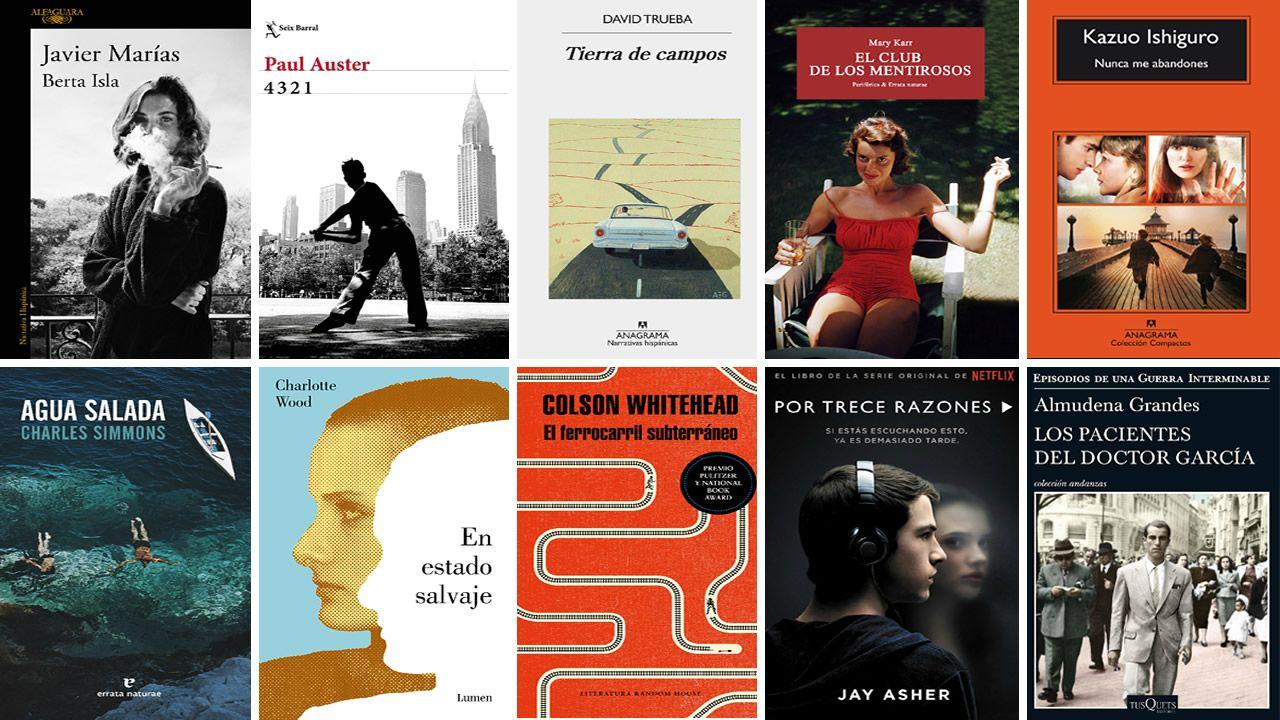libros.Leonardo Padura, junto a Juan Villoro, en el hotel de la Reconquista, jurados ambos del Premio Princesa de las Letras 2018
