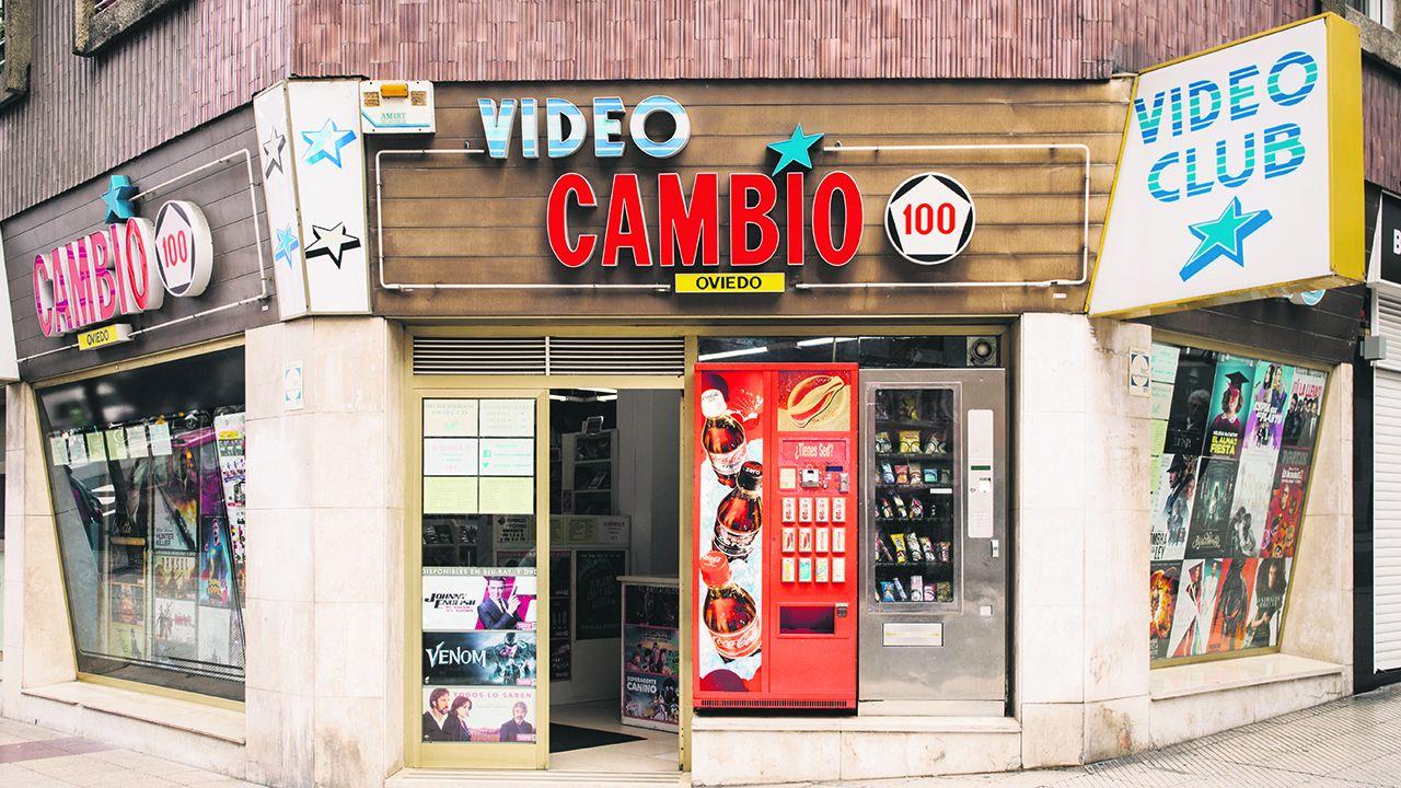 Video club Cambio 100 en Oviedo