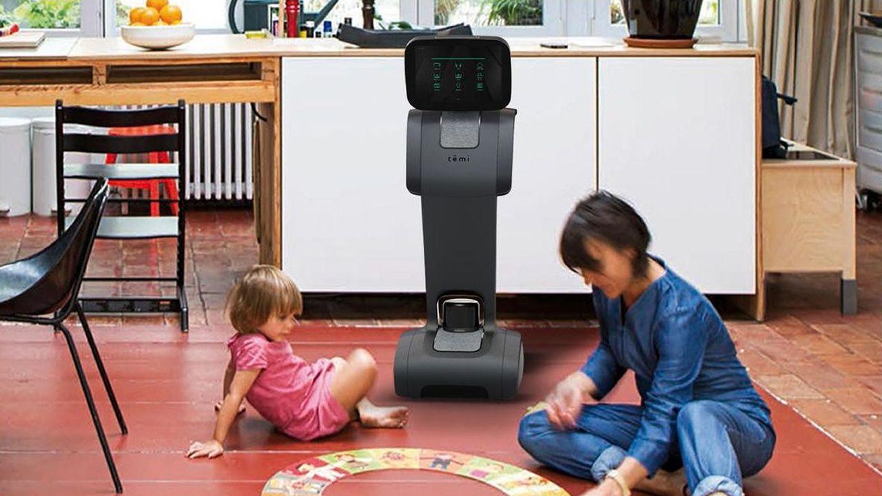 Temi fue una de las sensaciones del Mobile, un robot social capaz de servir de mayordomo y de DJ