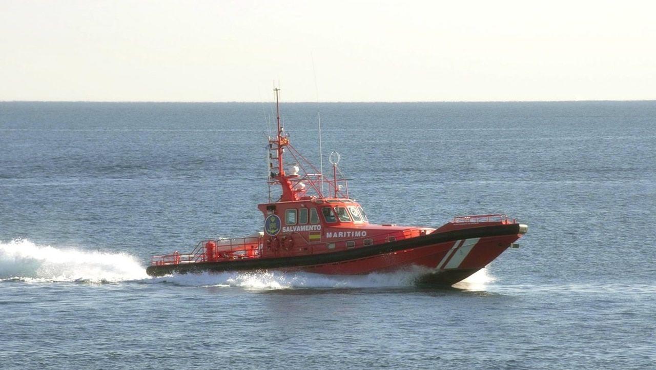 Dispositivo de búsqueda en Ferrol.Fernando Novoa en una fotografía de archivo