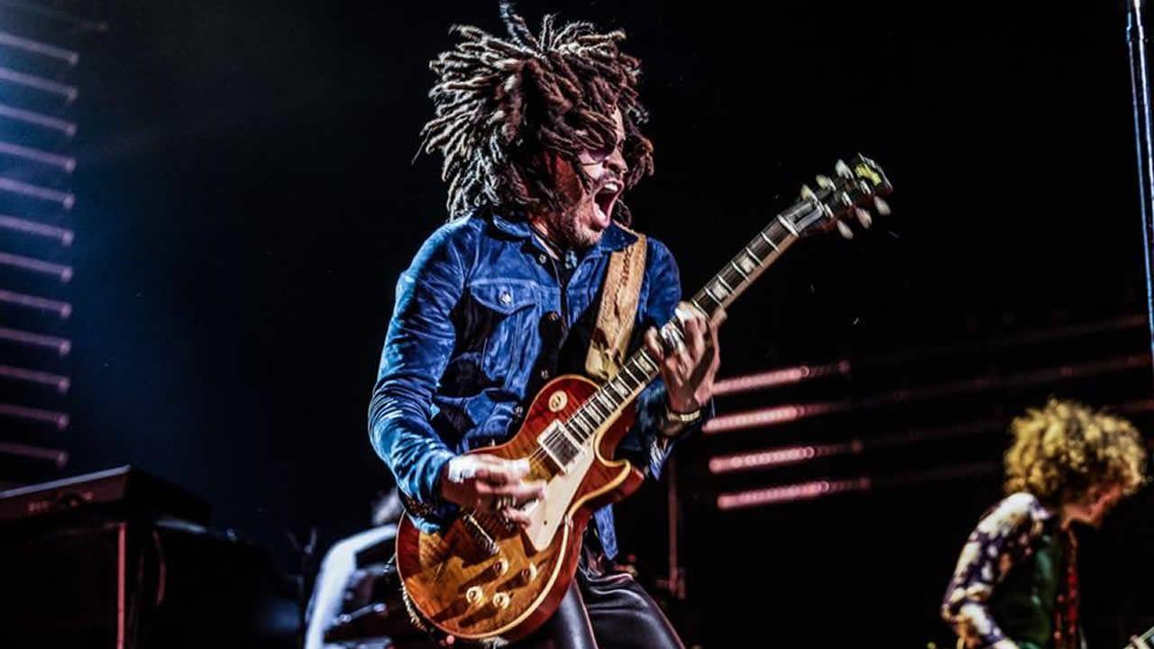 .Lenny Kravitz en concierto en Tauron Arena, en Polónia. El cantante es un de los actrativos de O Son do Camiño (España)