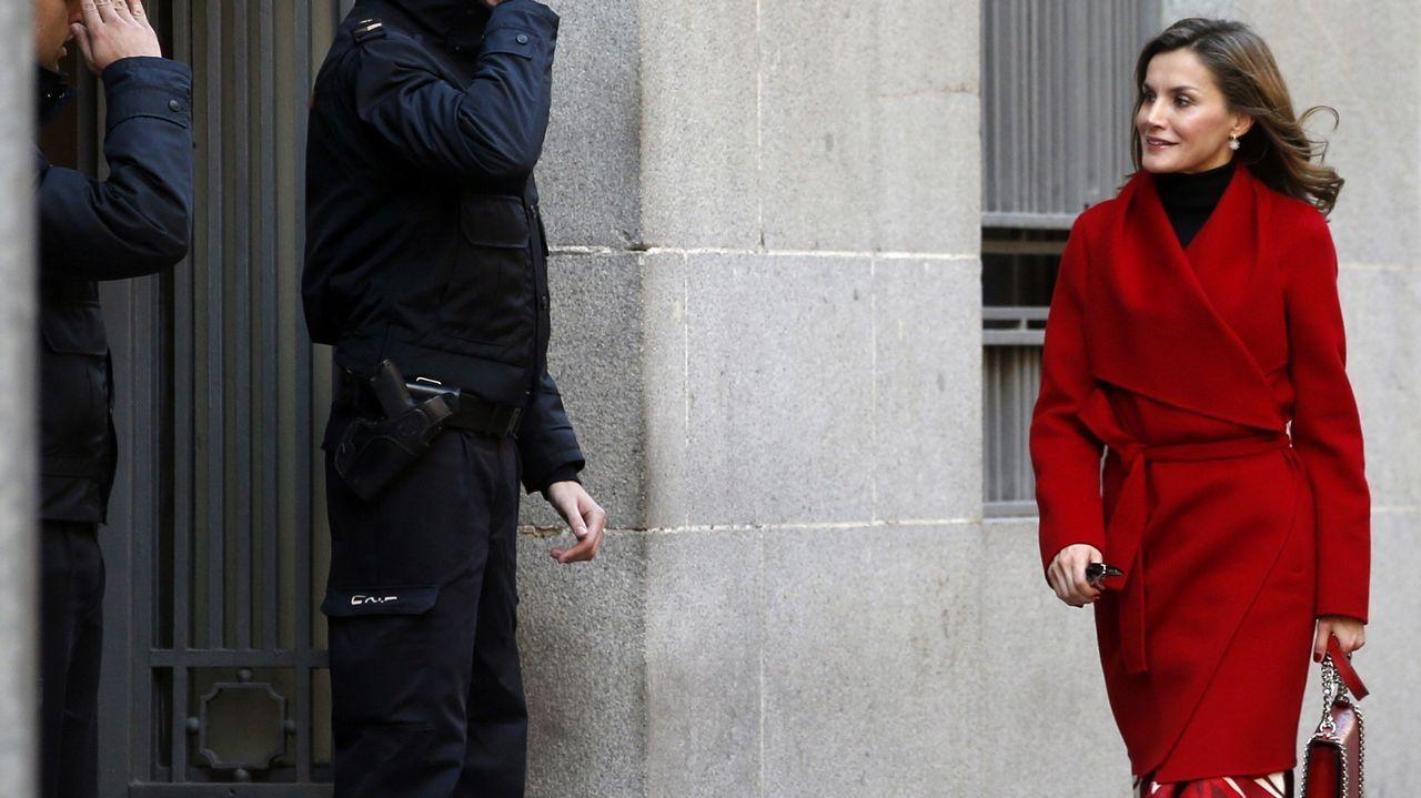 El 21 de diciembre, en un acto de la Asociación Española contra el Cáncer