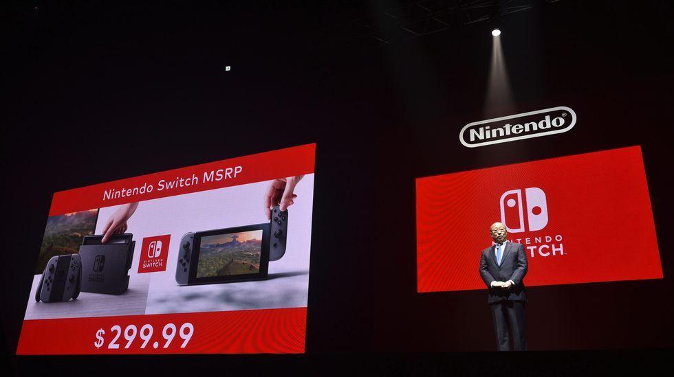 Chequeo a la muestra VideoXogos.Nueva consola de Nintendo