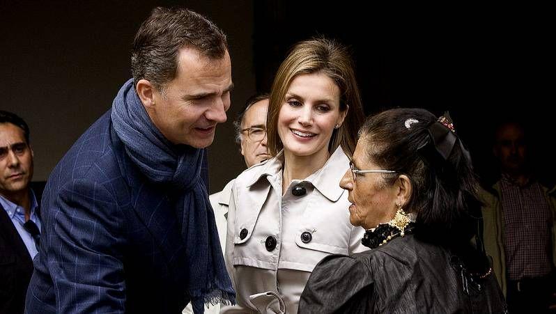 El viaje a Toledo de los príncipes de Asturias.Los príncipes celebraron los 10 años de matrimonio con una cena