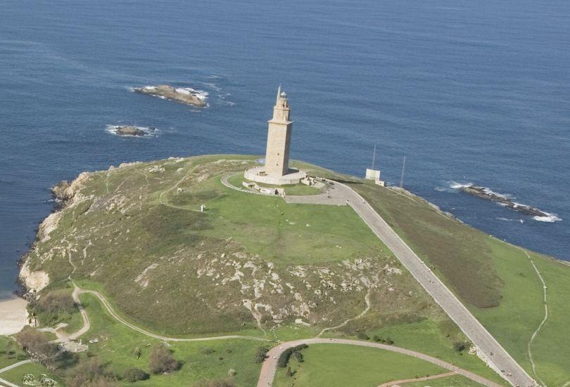 Vista aérea del entorno de la Torre en el 2006