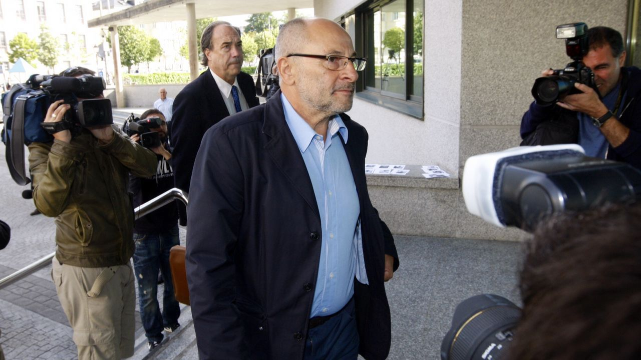FRANCISCO RODRÍGUEZ (exalcalde de Ourense): Es uno de los políticos que esperan desde el 2012 que se sustancien las acusaciones que pesan sobre ellos por el caso Pokémon