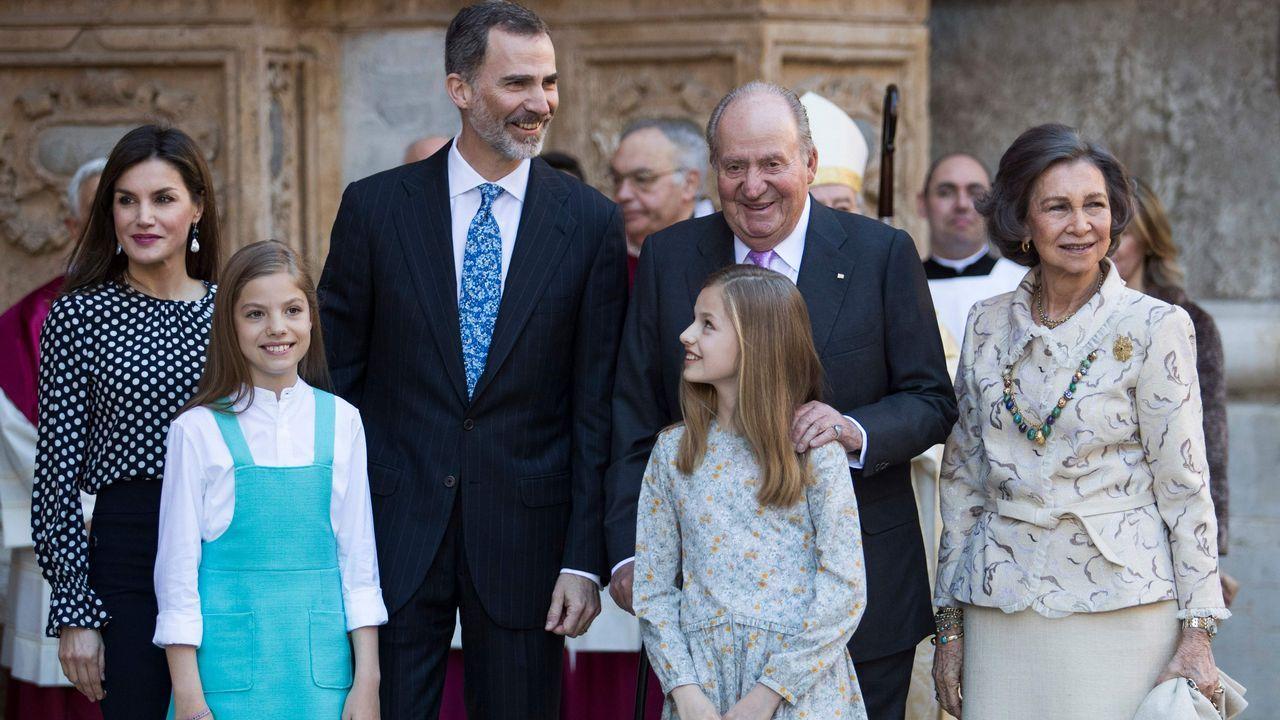 Las mejores imágenes de la Familia Real en Palma