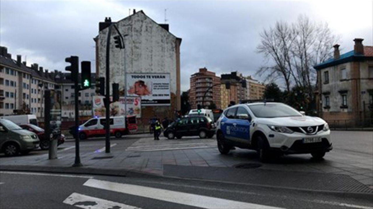 Atropello en Oviedo