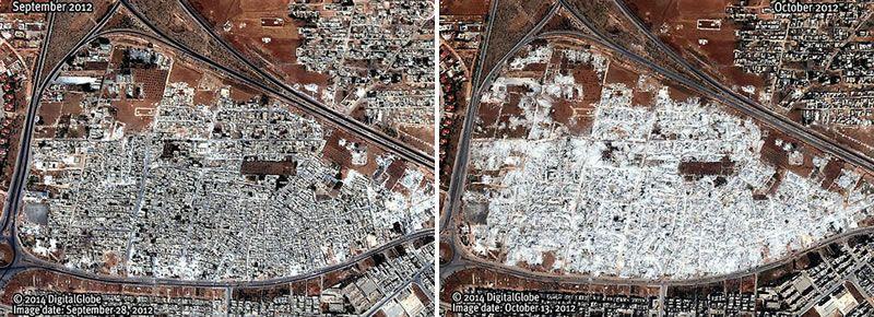 siria_portada.Un barrio, antes y después de las demoliciones