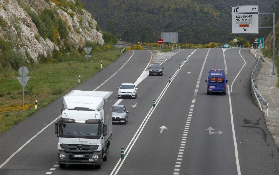 La cifra de vehículos que transitan por el corredor se ha incrementado considerablemente.