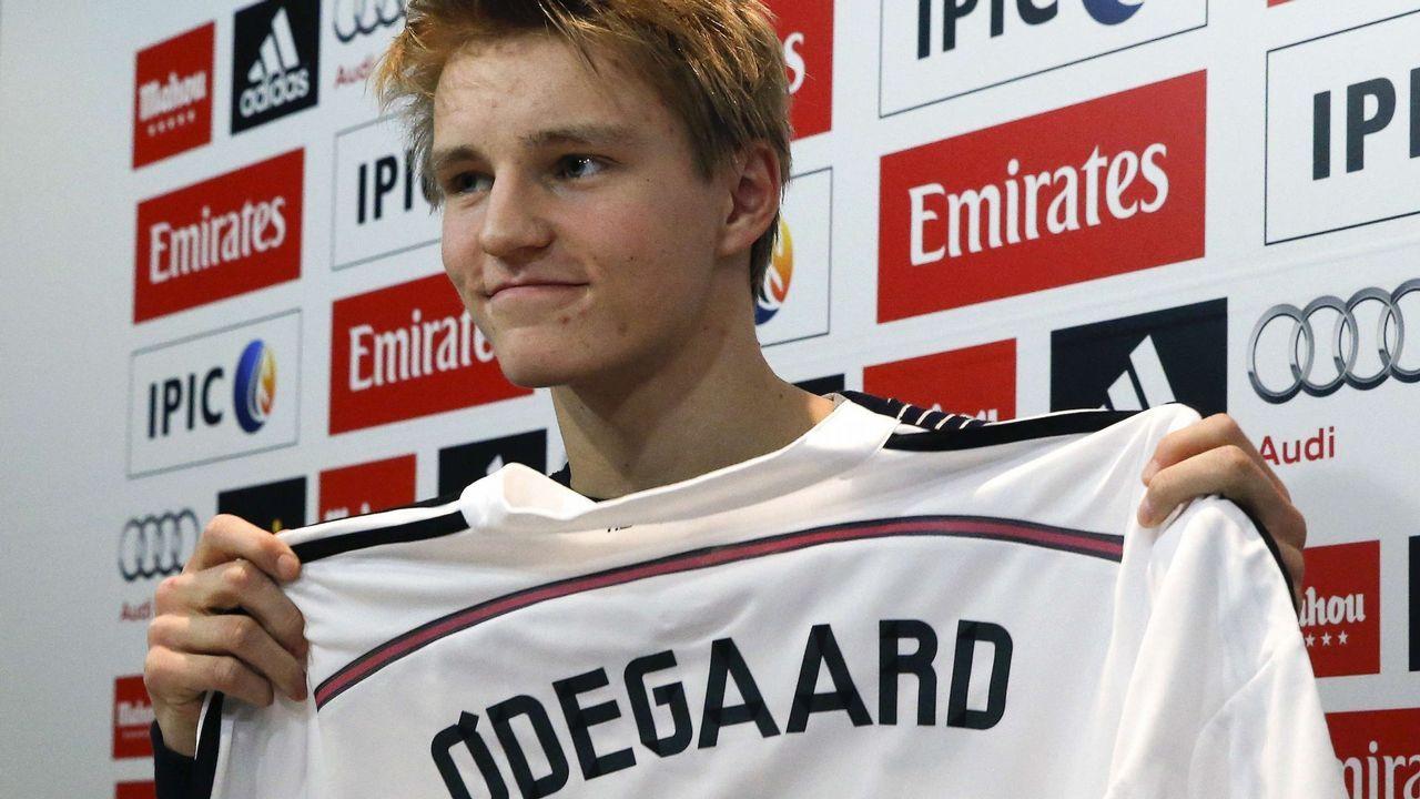 Odegaard: 4 millones. Fichado con 16 años, divaga desde el 2015 en busca desde la madurez
