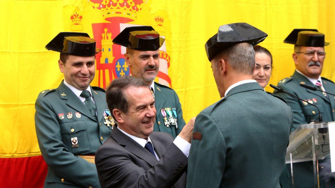 La Guardia Civil celebra su patrona.Juzgados de Gijón