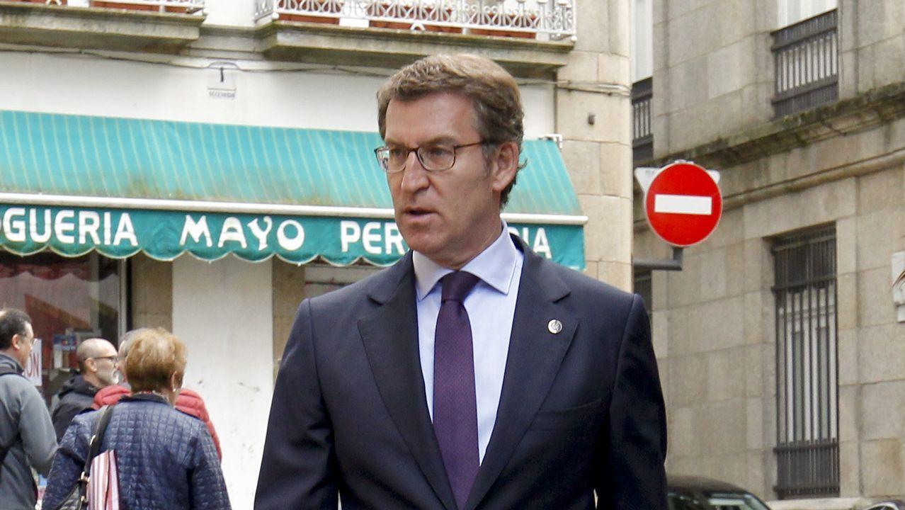 Feijoo: «Soy el presidente de la Xunta y mi compromiso es cumplir con mis obligaciones».