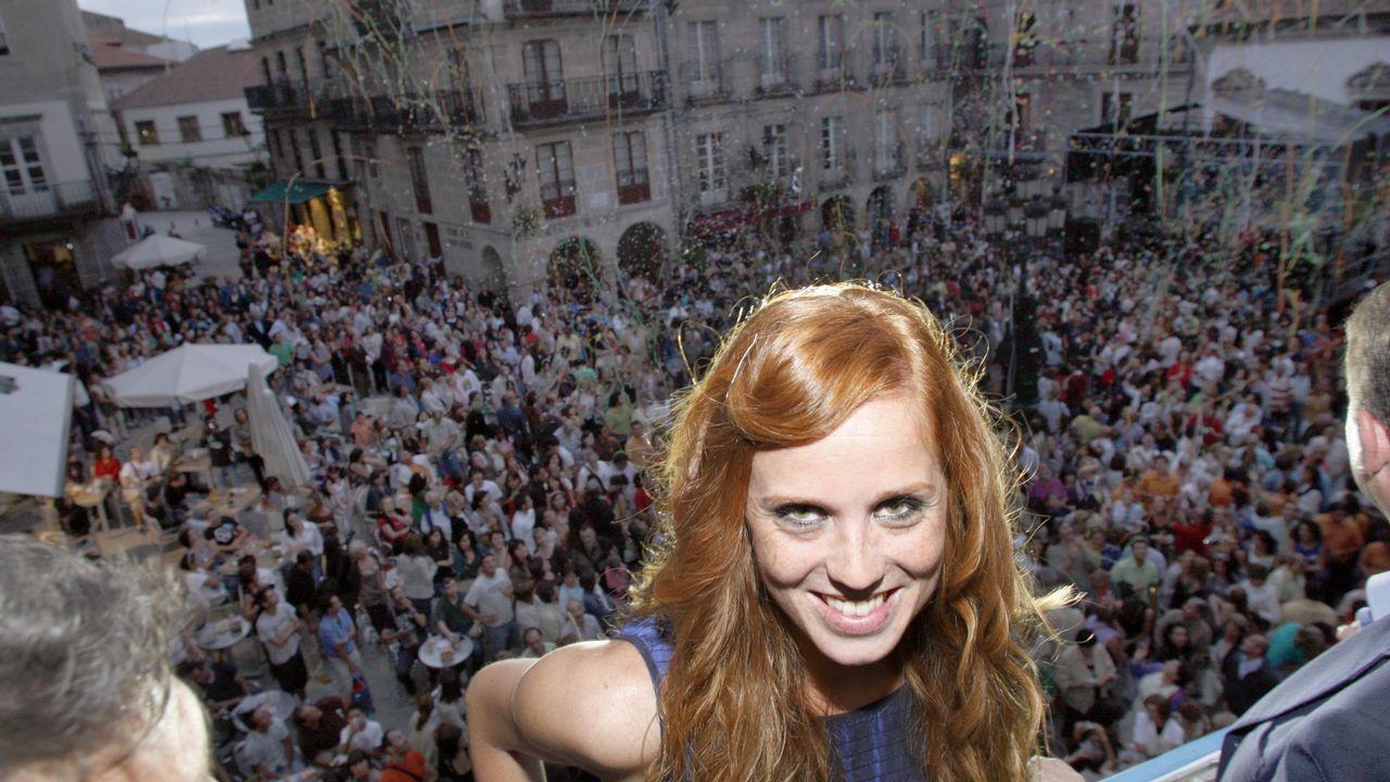 En 2009 dio el pregón de la Semana Grande de Vigo