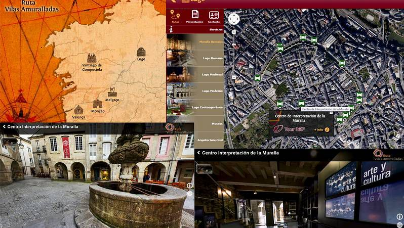 Comparativa del viaje Lugo-Ourense por Monforte o por Chantada.Reptigalia en Ponteareas