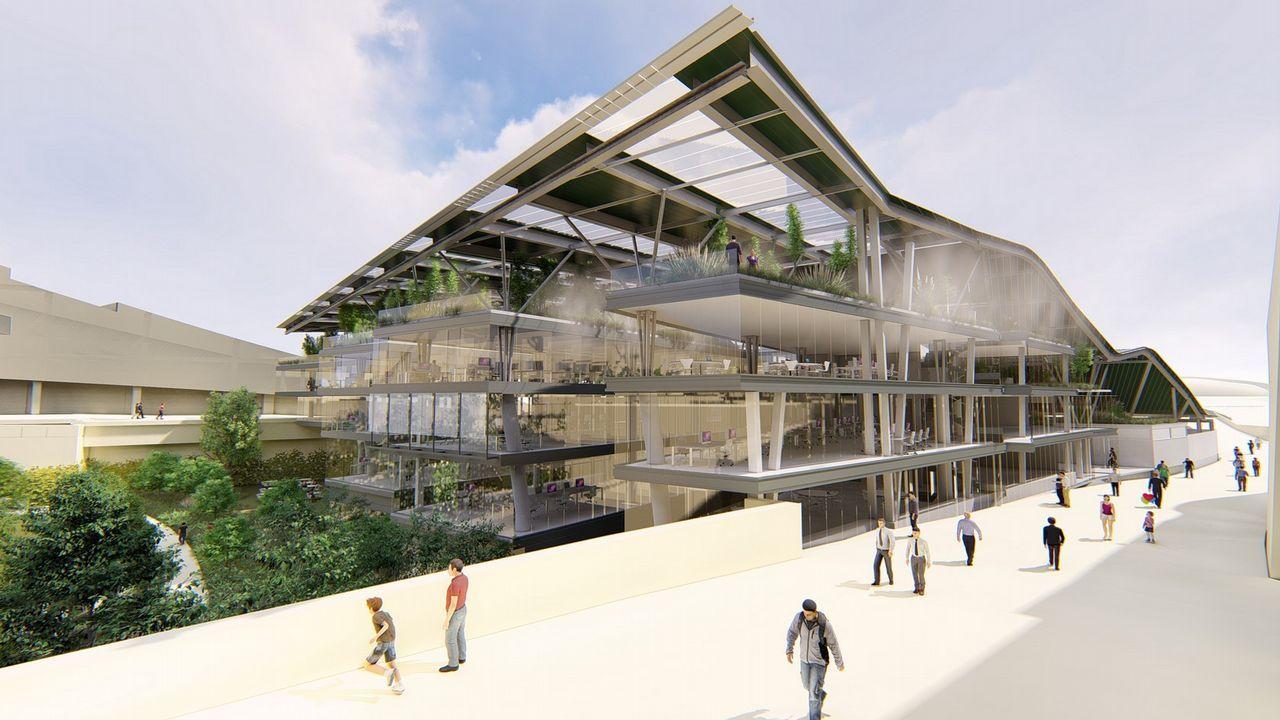 Así será el nuevo edificio del Gaiás