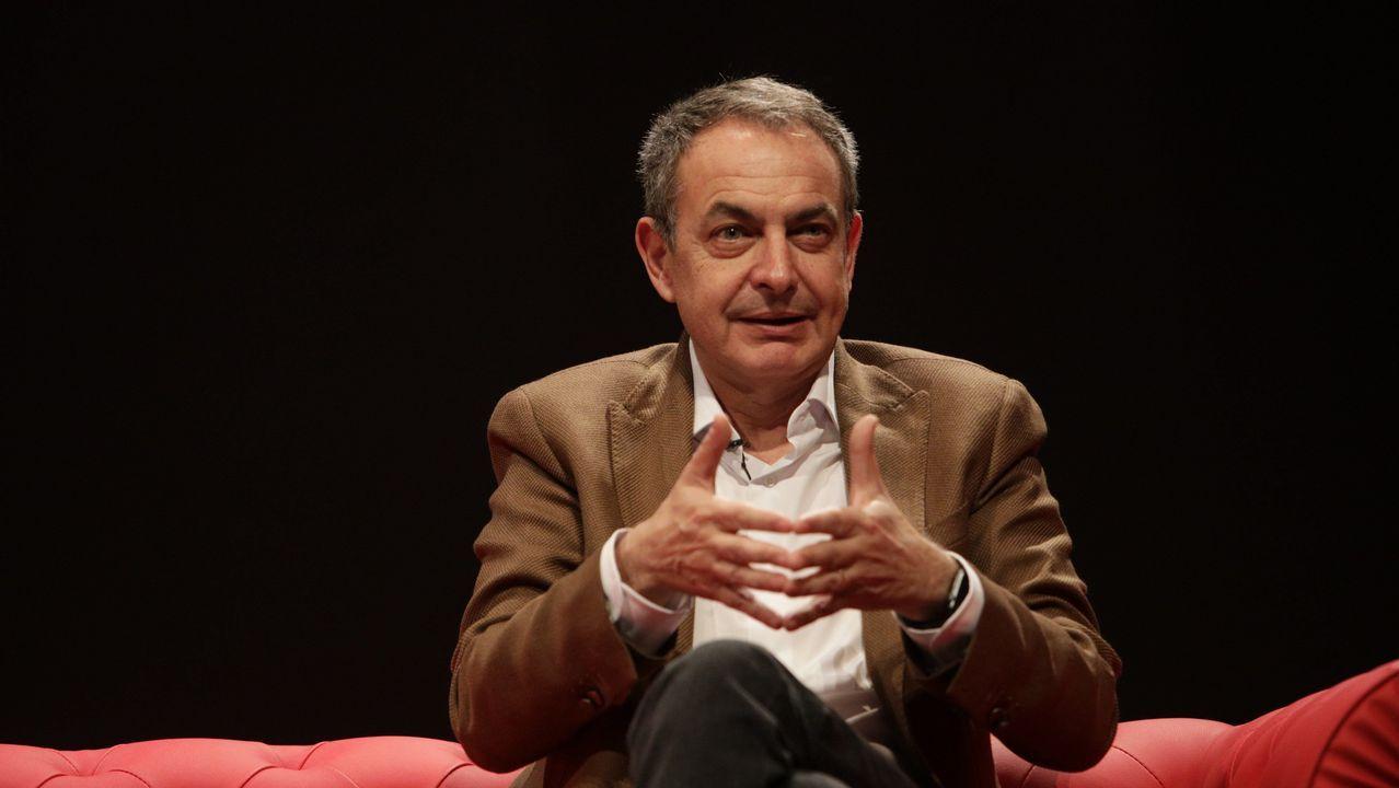 Zapatero pronostica que los votantes «no van a estar dispuestos a que la España de derechos acabe convertida en un país de derechas»