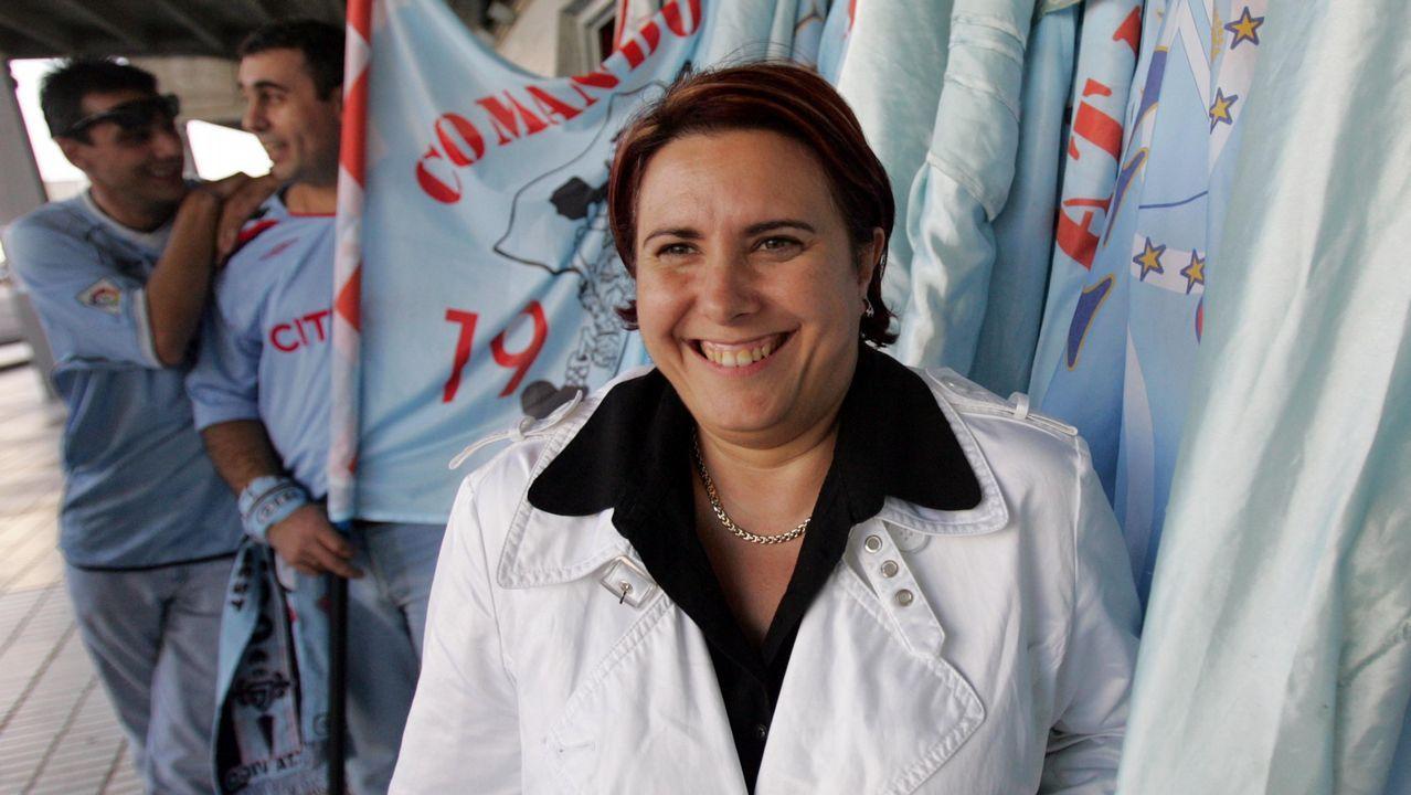 Begoña Vázquez, en su época como presidenta de la Federación