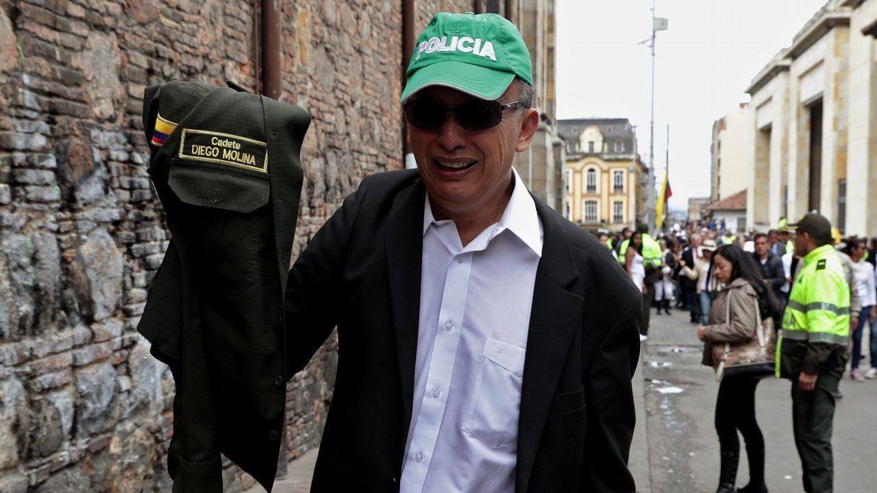 Ourense saca músculo en Fitur.Juan Guaidó, durante su jura como presidente interino de Venezuela