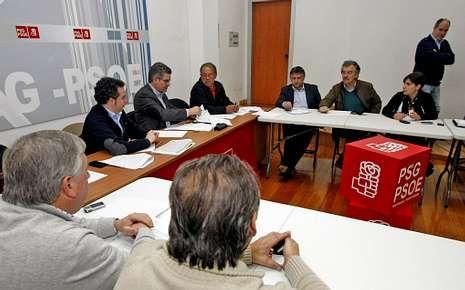 Inundaciones en Artes (Ribeira).Parte de la ejecutiva provincial se reunió con alcaldes y ediles.