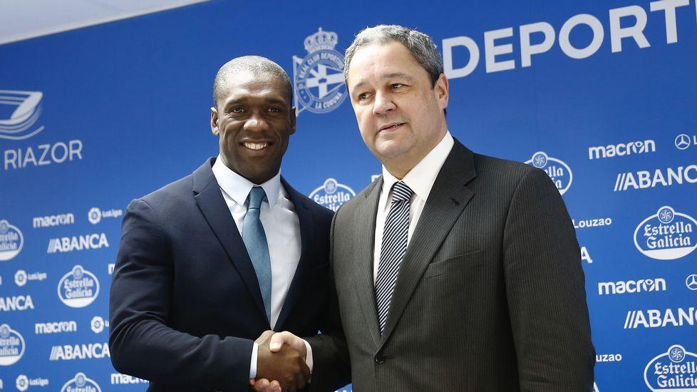 El Deportivo presenta a su nuevo entrenador.Alineaciones Real Madrid y PSG