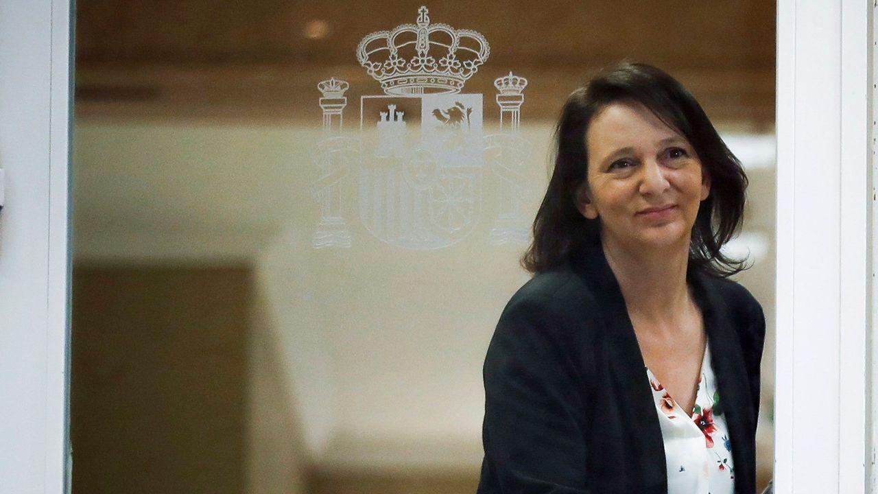 Rajoy dice que era «obligada» la dimisión de Cifuentes.Alberto Garzón