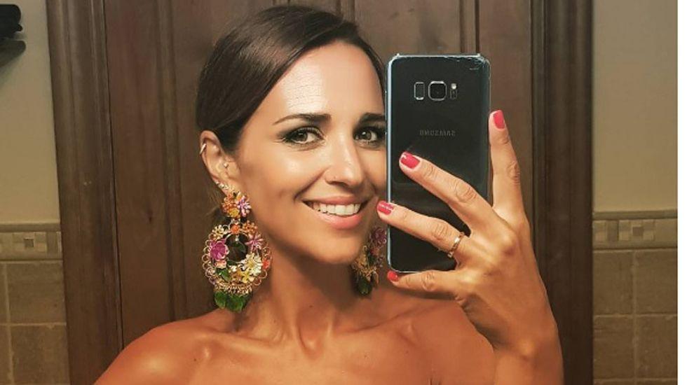 Paula Echevarría vuelve a lucir su anillo de casada.