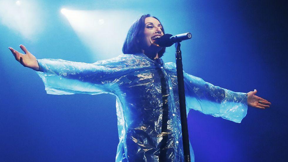 Foto de archivo del concierto de Luz Casal en el Auditorio en marzo de este año.