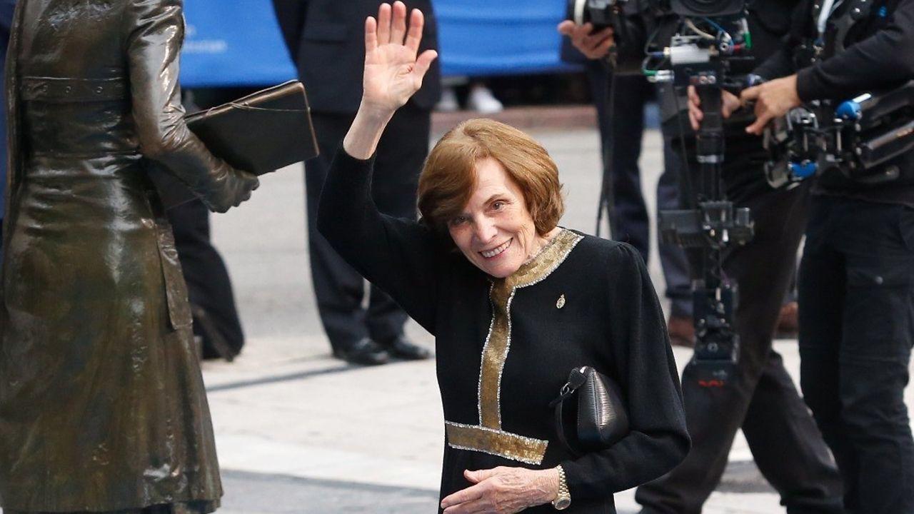 Las mejores imágenes de la ceremonia.Sylvia Earle