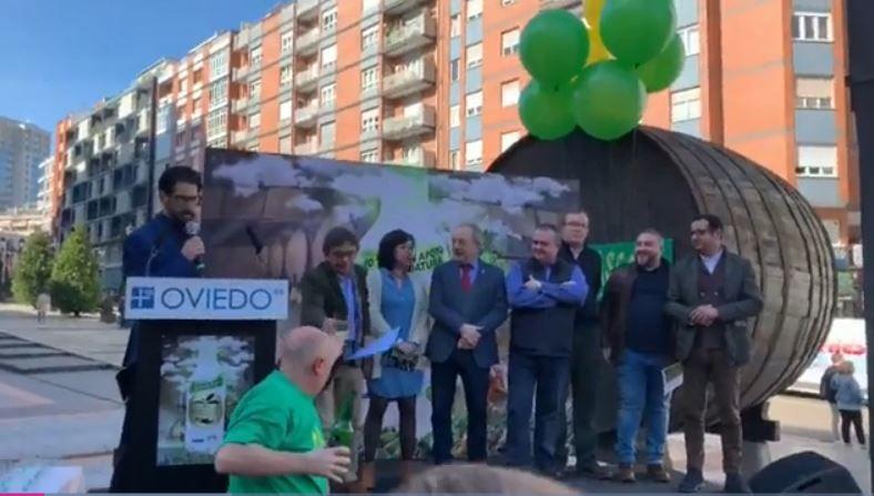 Gascona desborda apoyo a la sidra para que se convierta en Patrimonio de la Humanidad