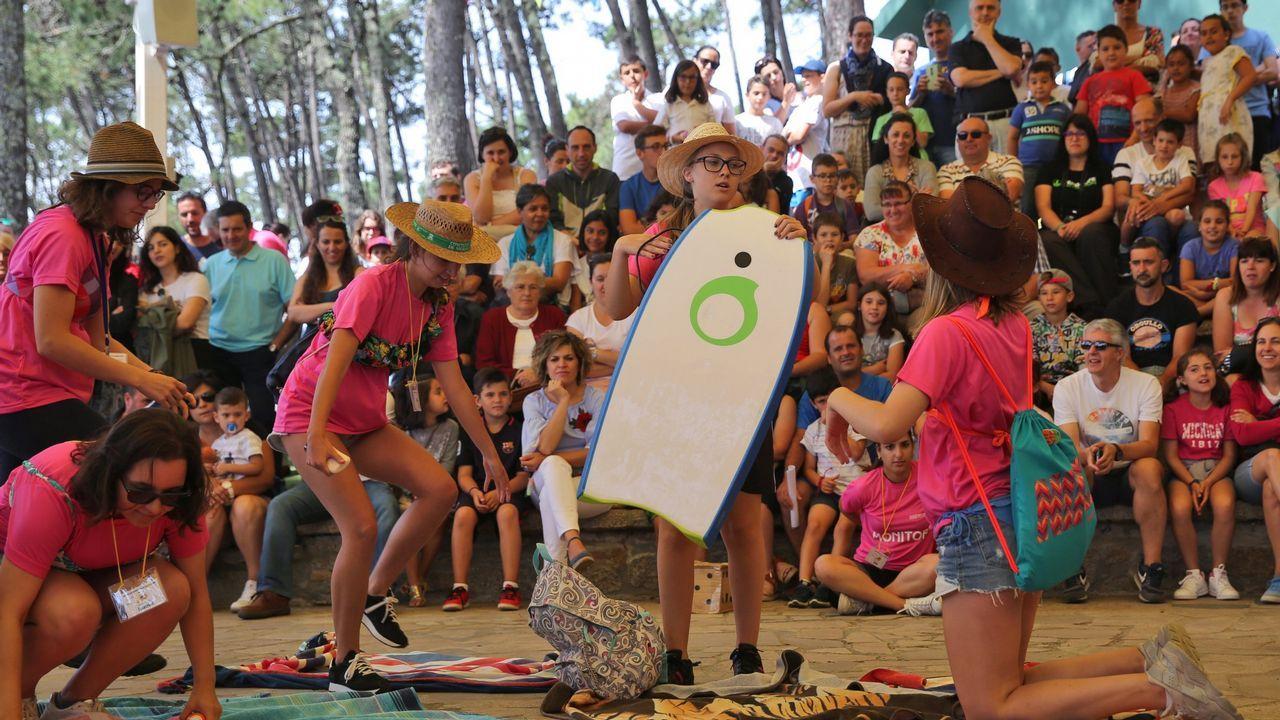 Los coletazos del 8M en Vigo.Afluencia de gente en el Festival de cultura urbana O Marisquiño del 2017 en Vigo.