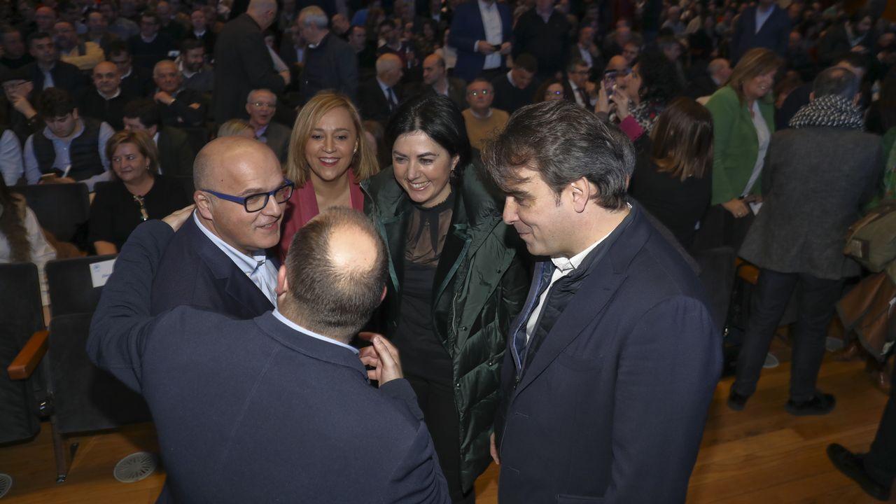 Adolfo Nogueira valora el hecho de que el alcalde le haya retirado las competencias.Imagen de 2017 presentando su candidatura a la secretaría provincial del PSOE