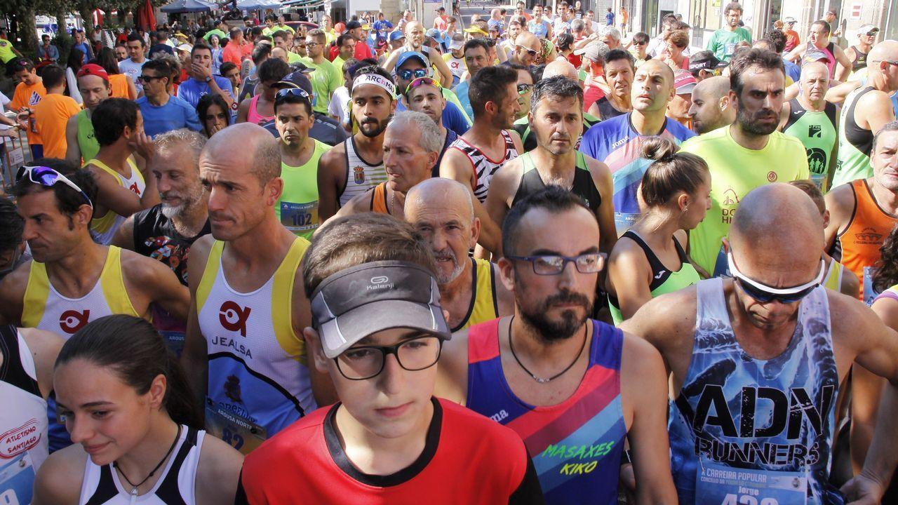 ¡Búscate en la Carrera Popular de A Pobra!.Carrera popular de Los Rosales