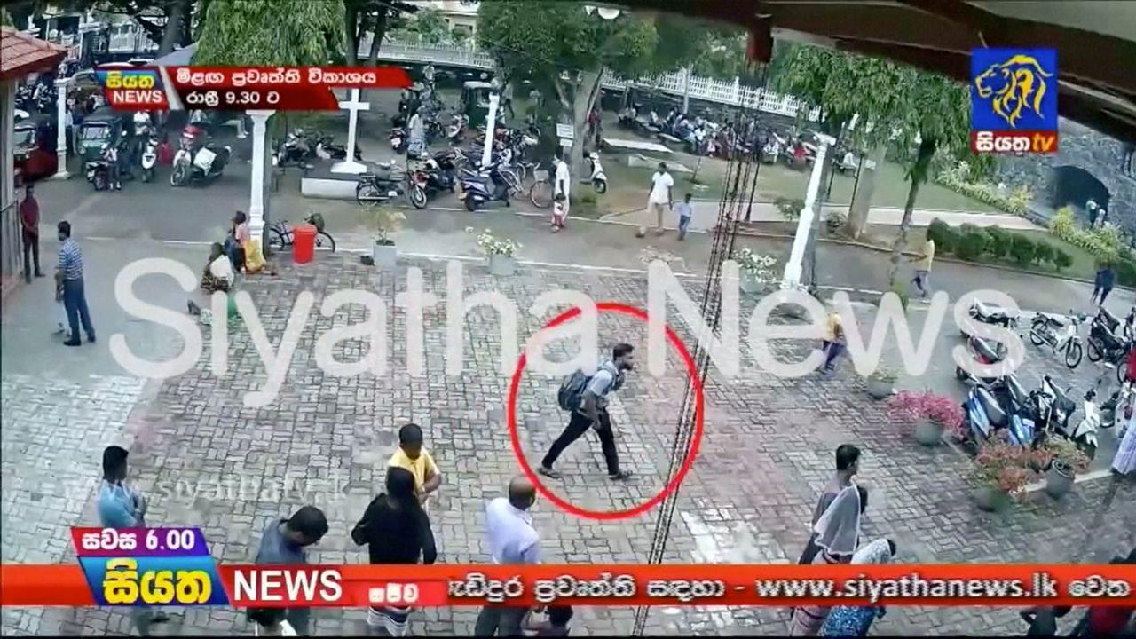 Imágenes de uno de los terroristas suicidas de Sri Lanka poco antes de provocar la masacre