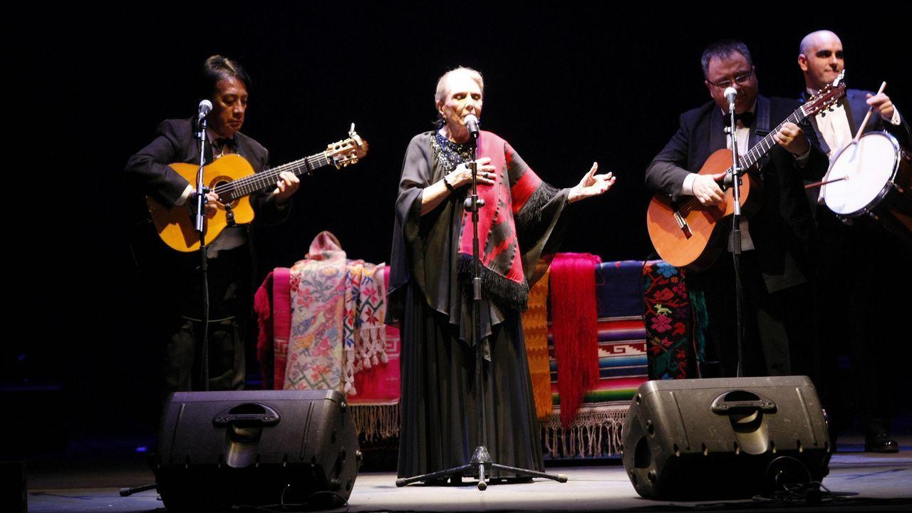 Maria Dolores Pradera en A Coruña en el 2009