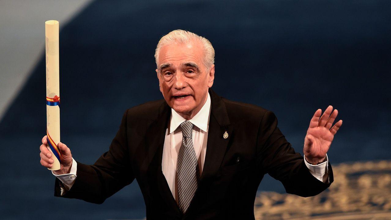 Las mejores imágenes de la ceremonia.Martin Scorsese en la ceremonia de entrega de los Premios Princesa de Asturias 2018.