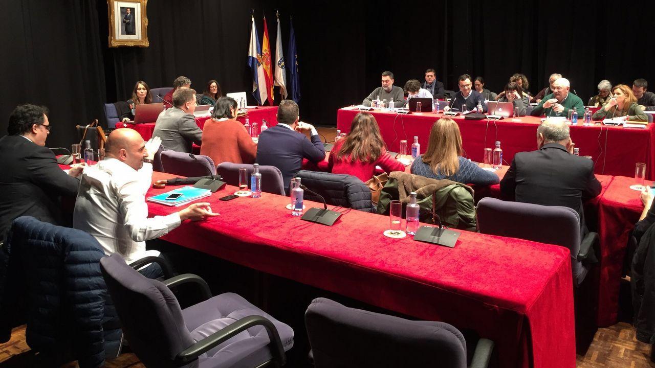 Concentración feminista en Ourense.Luis Villares en una imagen de archivo