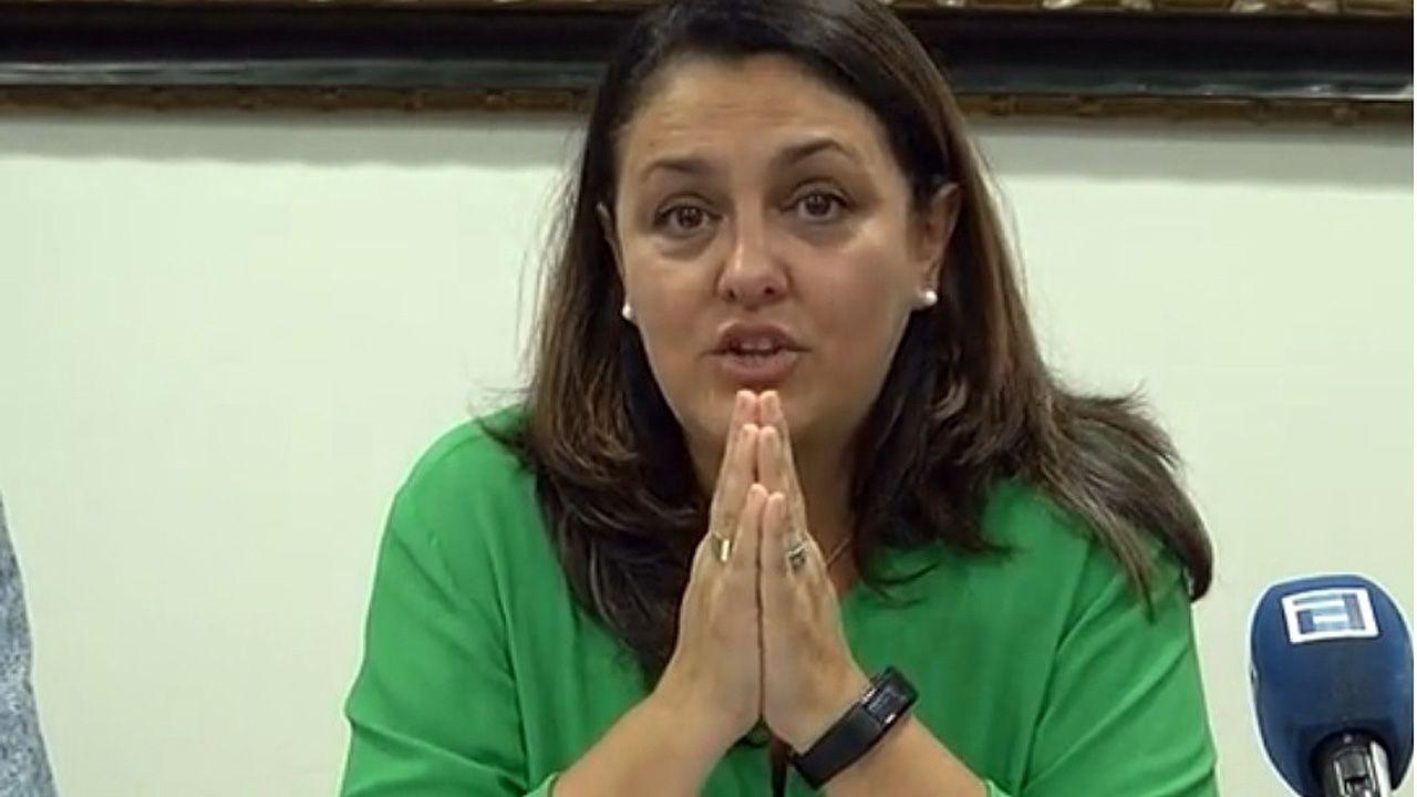 La alcaldesa de Ribadesella, Rosario Fernández