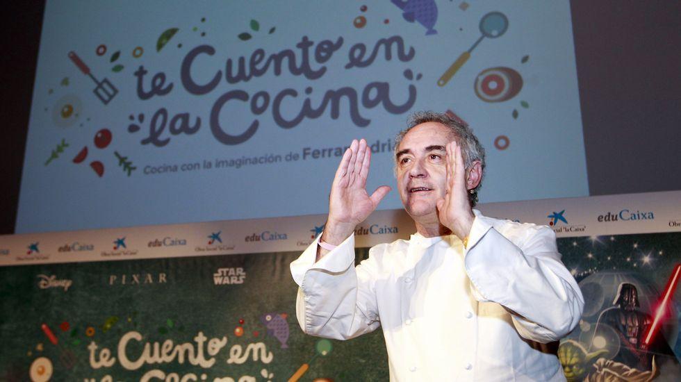«El cachopo no deja de ser una croqueta».Ferrán Adriá