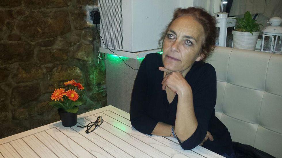 .Celeste Intriago, presidenta de la Coordinadora Asturiana de ONGD