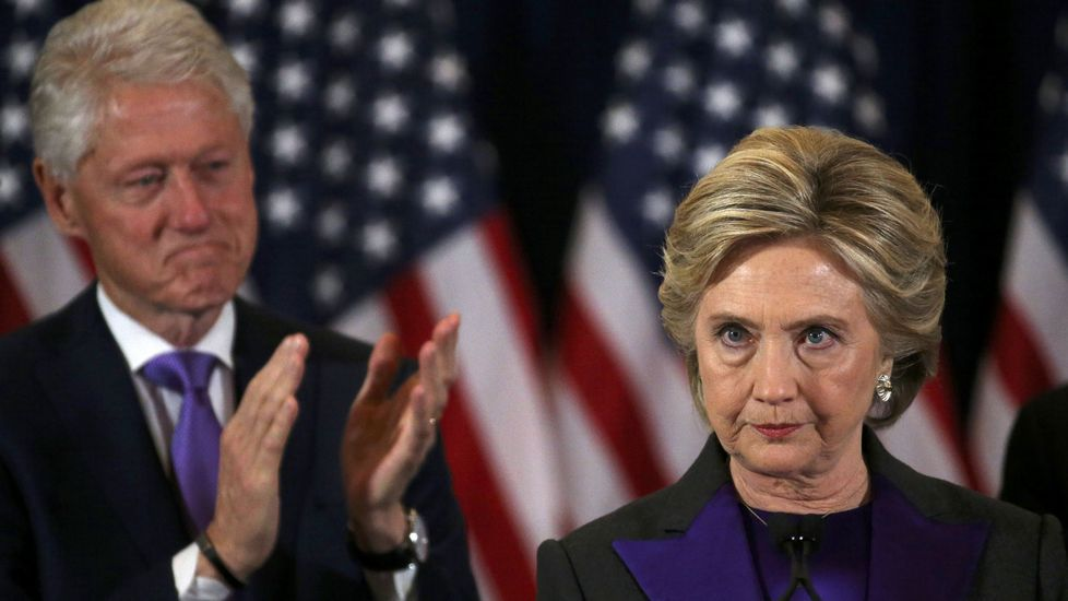 Hillary: «Todavía creo en América».BRIA WEBB | Reuters