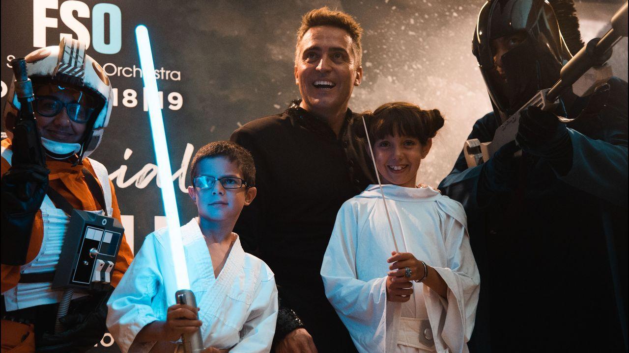 La estética de «Star Wars» inspira el vestuario de la gira