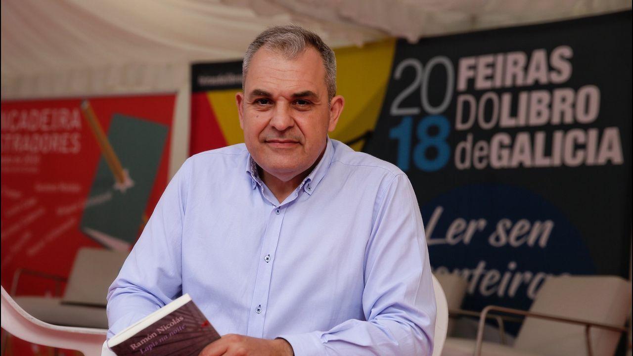 El Teucro vendimia en Pazo Baión .Luis Piedrahita