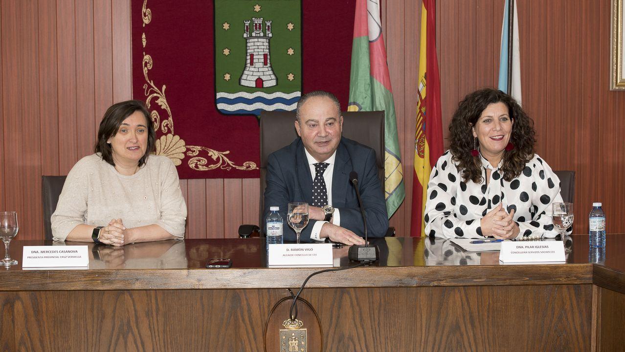 Elena Viturro, junto a Manuel Aguilar, su sucesor