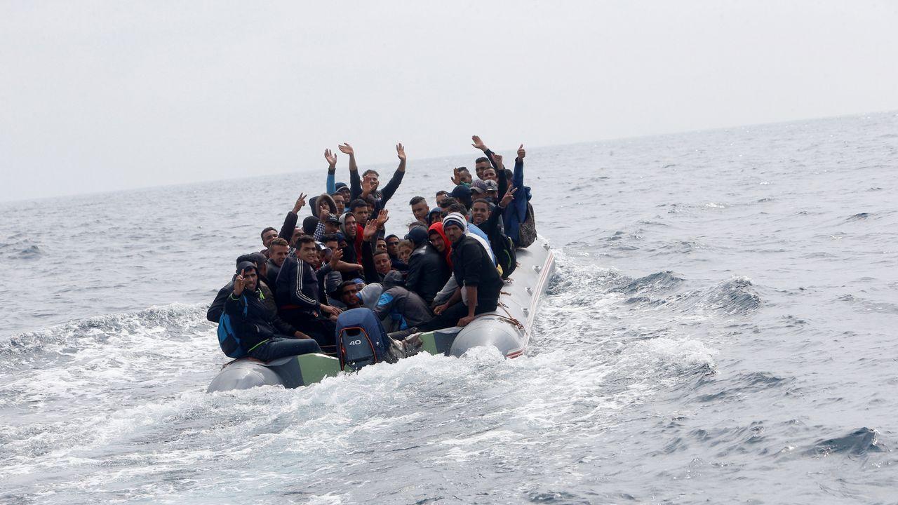 Venían cruzando el Estrecho de Gibraltar desde Marruecos