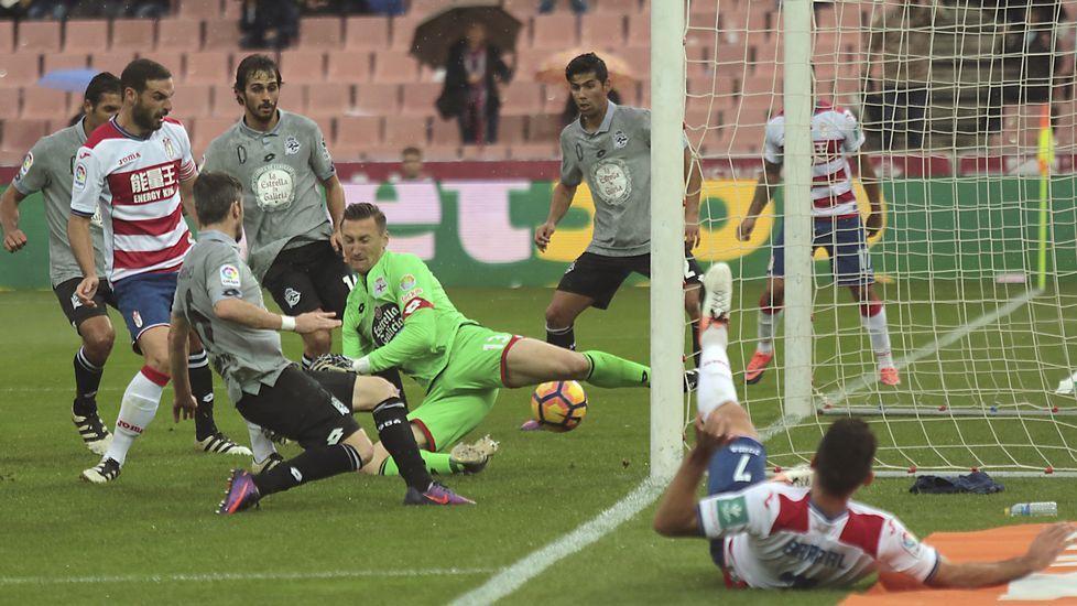 El Granada-Deportivo, en fotos