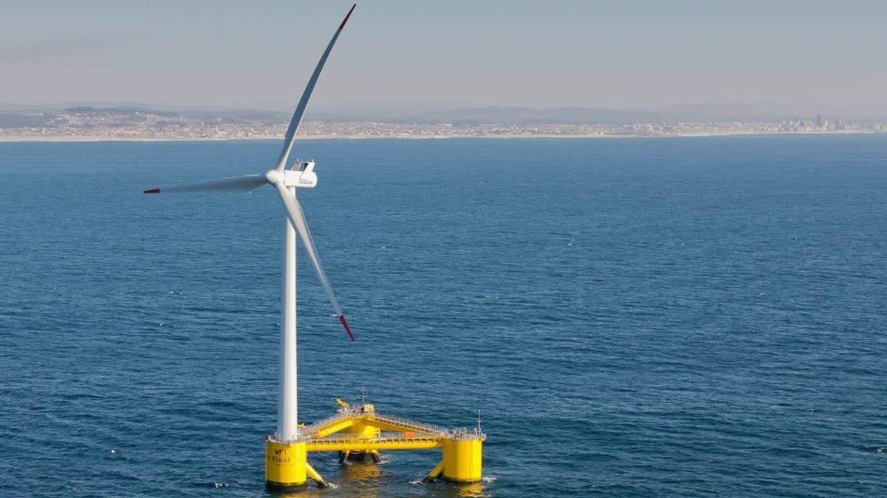 Los tres primeros jackets del mayor parque eólico marino del mundo son de Fene