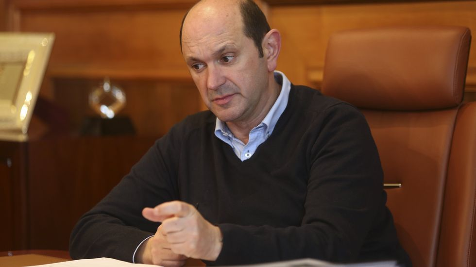 Rafael Louzán, ex presidente de la Diputación de Pontevedra