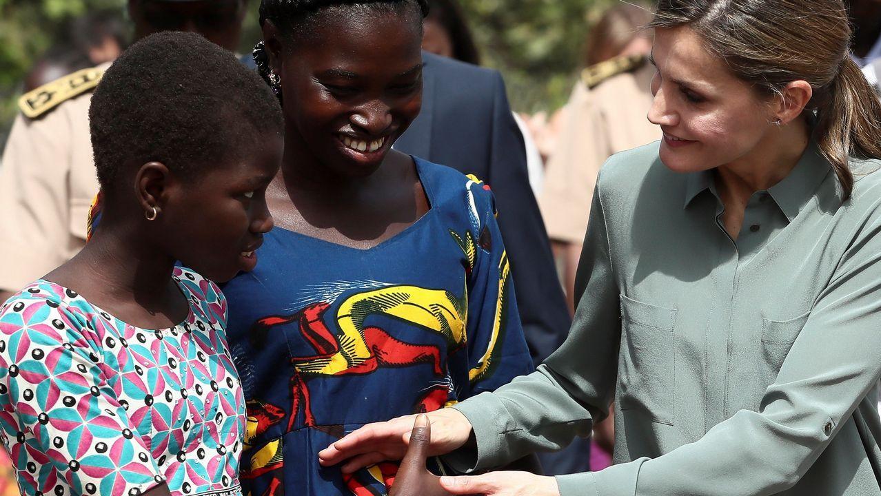 La reina Letizia prosigue su viaje por Senegal